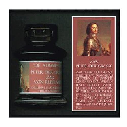 JANSEN文學家系列手工墨水(酒紅色)彼得大帝 須預訂*1155