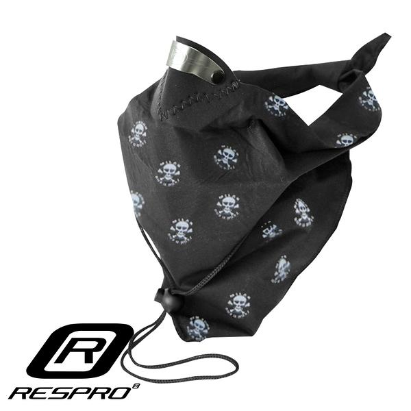 英國 RESPRO BANDIT 過濾PM2.5領巾式口罩( 骷髏)