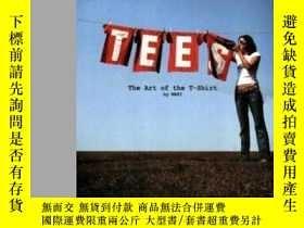 二手書博民逛書店Tees:罕見The Art Of The T-shirtY255562 Maki Design Lauren