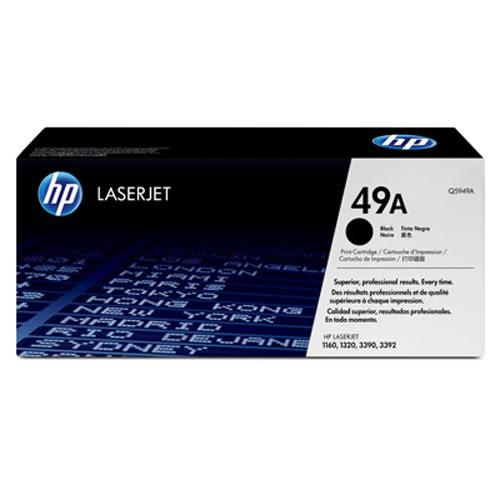 【全館免運●3期0利率】HP 原廠黑色碳粉匣 Q5949A 適用 HP LaserJet 1160/1320 雷射印表機
