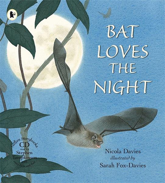 【麥克書店】BAT LOVES THE NIGHT /英文繪本附CD 《主題:自然科學》