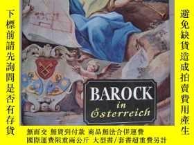 二手書博民逛書店BAROCK罕見in Osterreich 《巴洛克藝術》 除了