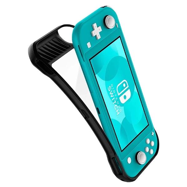 【Spigen】Nintendo Switch Lite- Rugged Armor 防摔保護殼 防滑設計 附掛繩