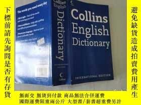 二手書博民逛書店Collins罕見English Dictionary  柯林斯