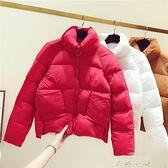 羽絨棉服女2020年新款韓版冬季外套女修身短款輕薄棉衣女式小棉襖