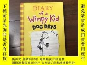 二手書博民逛書店Diary罕見of a Wimpy Kid Dog Days 4