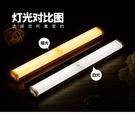 USB充電式 LED自動感應燈 磁吸感應燈 LED感應燈 櫥櫃燈 床頭燈 裝飾燈 露營夜燈 磁吸式安裝免佈線