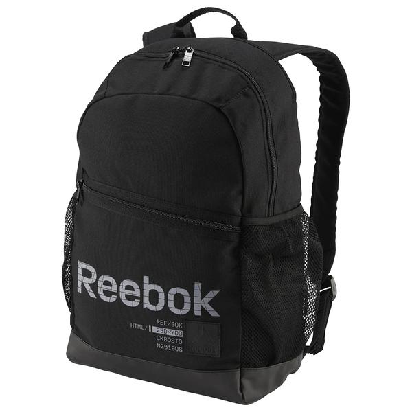 REEBOK STYLE ACTIVE FOUNDATION 背包 後背包 休閒 健身 筆電 水壺 黑 【運動世界】DU2731