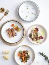 西餐盤 盤子創意家用菜盤牛排餐盤微波爐烤盤陶瓷盤烤箱專用碗ins風碟子 【99免運】