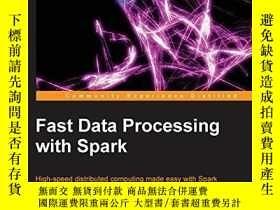 二手書博民逛書店Fast罕見Data Processing With SparkY256260 Holden Karau Pa