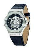 【Maserati 瑪莎拉蒂】/經典LOGO鏤空機械錶(男錶 女錶  Watch)/R8821108001/台灣總代理原廠公司貨兩年保固