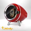 【Jebely】機械手錶自動上鍊盒 簡約風格 JBW090 簡約白 單手錶轉台 動力儲存錶機 台灣製