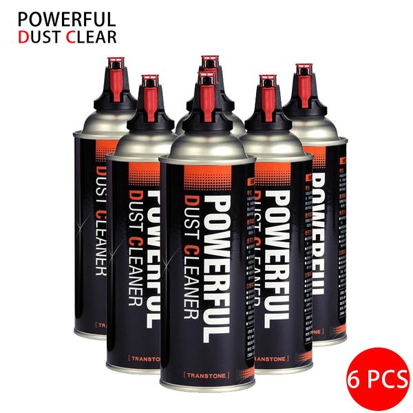 黑熊館 POWERFUL DUST CLEAR 保靈環保高壓清潔噴罐 (6入) 不含水 空氣罐 台灣製造