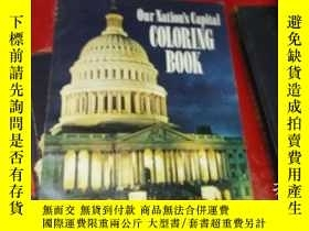 二手書博民逛書店our罕見nation s capital coloring b