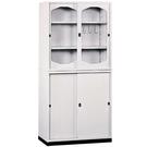 【時尚屋】K315圓框3x6拉門鐵櫃Y116-5免運費/台灣製/免組裝