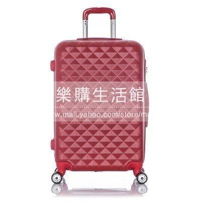 萬向輪行李箱 拉桿旅行箱(28寸單箱紅色)LG-38392