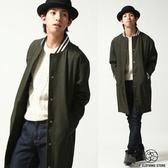 現貨棒球外套 長版羊毛大衣