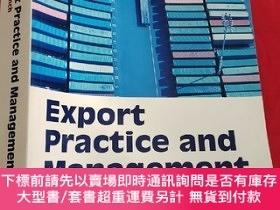 二手書博民逛書店Export罕見Practice and Management (16開) 【詳見圖】Y5460 Alan E