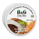 【德國農莊 B&G Tea Bar】有機橙花檸檬紅葉茶 圓鐵罐 (50g)