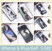 iPhone 6 Plus/6sP (5.5吋) 歐美性感女生系列 黑邊軟殼 手機殼 保護殼 手機套 保護套 背蓋 背殼 外殼