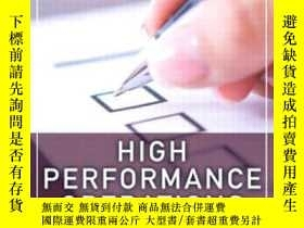 二手書博民逛書店High罕見Performance Operations: Leverage Compliance To Lowe