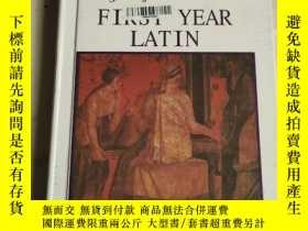 二手書博民逛書店Jenneys罕見First Year Latin 第一學年拉丁