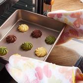 廚房耐高溫防燙手套 加厚硅膠防水隔熱手套 烘焙烤箱微波爐用手套 至簡元素