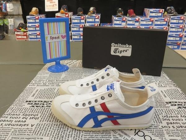 【iSport愛運動】Onitsuka Tiger MEXICO 66 SLIP ON 休閒鞋 TH1B2N0143 男女款