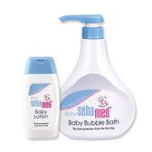 施巴 PH5.5 嬰兒泡泡浴露500ml (押頭式) +嬰兒潤膚乳液100ml
