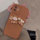 手機殼 保護套 可愛卡通適用iphone13promax蘋果12手機殼11新款xr女x立體8plus潮