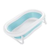 嬰兒浴盆3-6歲洗澡的盆兒童寶寶可折疊伸縮神器澡盆浴盤 麥琪精品屋