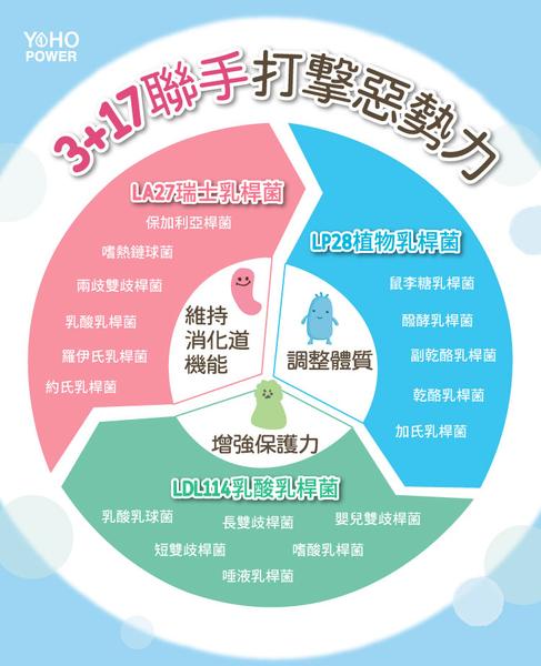 【買三送一】YOYO敏立清益生菌-乳酸原味/奇異果多多隨身盒(5條/盒) 好菌銀行