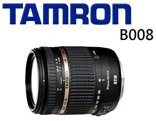 [EYE DC] Tamron 18-270mm F3.5-6.3 Di II VC PZD B008 俊毅公司貨 3年保固 (分12.24期)