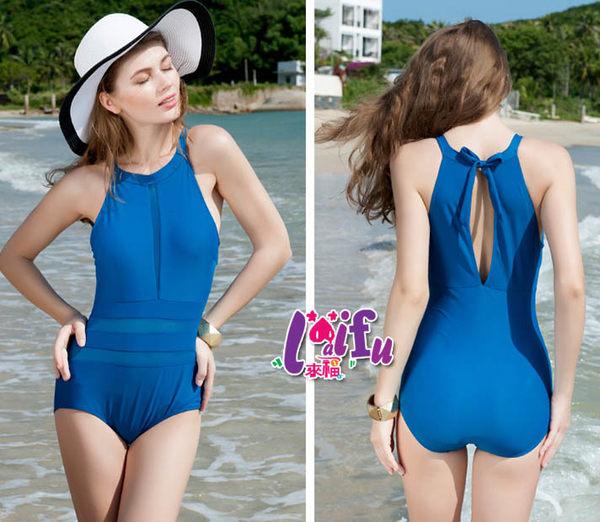 ★草魚妹★G128泳衣高領美胸連身泳衣游泳衣泳裝比基尼有加大泳衣正品,售價950元