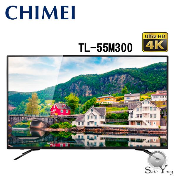 CHIMEI 奇美 TL-55M300 55吋 4K聯網液晶電視【公司貨保固3年+免運】