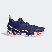 Adidas D.o.n. Issue 3-07[GW2945] 男鞋 籃球鞋 明星款 米契爾 聯名 愛迪達 深藍 紅白