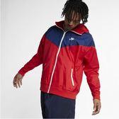 Nike Sportswear Windrunner  紅藍 拼接 連帽 防風 外套 男(布魯克林) 2019/3月 AR2192-657