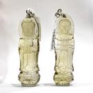 『晶鑽水晶』天然黃水晶墜子 項鍊 觀音菩薩 57mm 強力招財 改善腸胃 禮物 附鍊子
