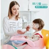 兒童餐椅寶寶餐椅多功能可調節吃飯桌便攜式嬰幼兒餐桌可滑行YJT 『獨家』流行館