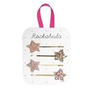 英國 Rockahula Kids 髮夾 - 閃亮粉星星