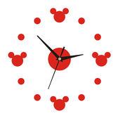 掛鐘客廳超靜音掛表創意時鐘兒童卡通臥室壁鍾鐘錶現代簡約石英鐘  檸檬衣舍