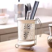 筷籠 日式陶瓷筷子筒瀝水 家用筷子盒廚房筷籠筷子籠 創意筷筒筷籠子 名創家居館