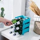 .創意可層疊酒類收納架冰箱啤酒飲料易拉罐收納盒家用玻璃瓶紅酒 中秋特惠