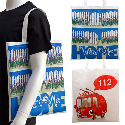 【客製化】 全彩不織布袋 環保袋 36x42cm 短提把 袋身無底 A90-100-089