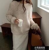 氣質簍空馬海毛針織羊毛慵懶風毛衣 Z11099   【全館免運】