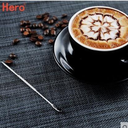 不銹鋼拉花針 咖啡雕花針 花式咖啡器具 咖啡雕花必備