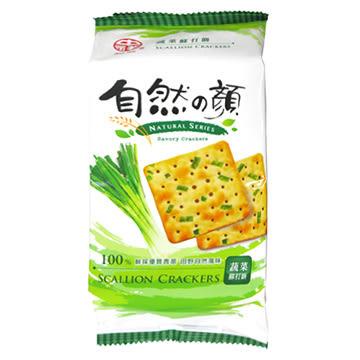 中祥自然之顏蔬菜蘇打餅獨享包80g【合迷雅好物超級商城】