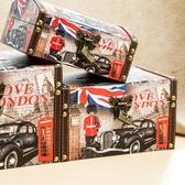 【YPRA】Pr 存錢筒 原創存錢罐成人紙幣儲蓄罐帶鎖復古大號特大號英倫風家居擺設