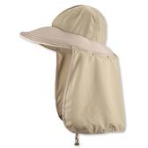 SNOW TRAVEL 抗UV護頸遮陽圓盤帽AH-10 /城市綠洲 (圓盤帽.遮陽帽.圓頂.抗UV紫外線)