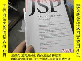 二手書博民逛書店journal罕見of scholarly publishing